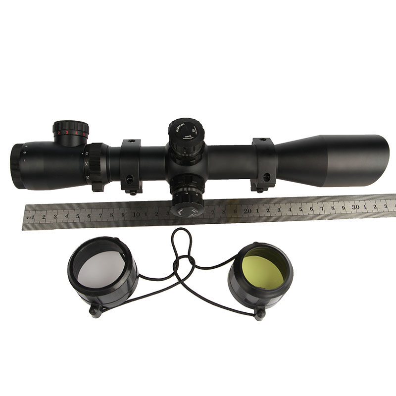 HOT SALES! China Suppliers 2017 NEW Hunting 4-12x40ESF Duplex Reticle Optics Air Gun Rifle Scope