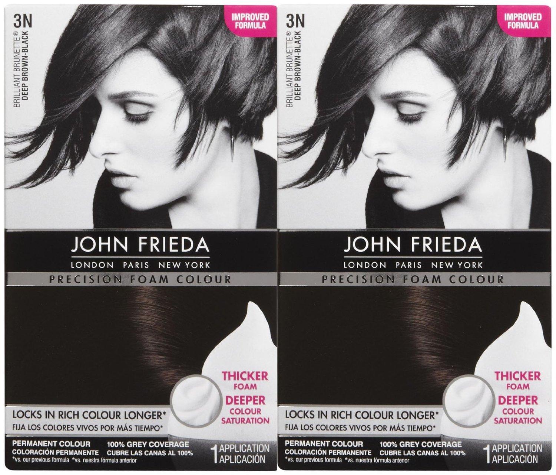 Buy John Frieda Precision Foam Hair Colour 4pbn Dark Cool Espresso