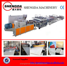 Construction Formwork Board Extruding Equipment/Extrusion Line/Production Machine