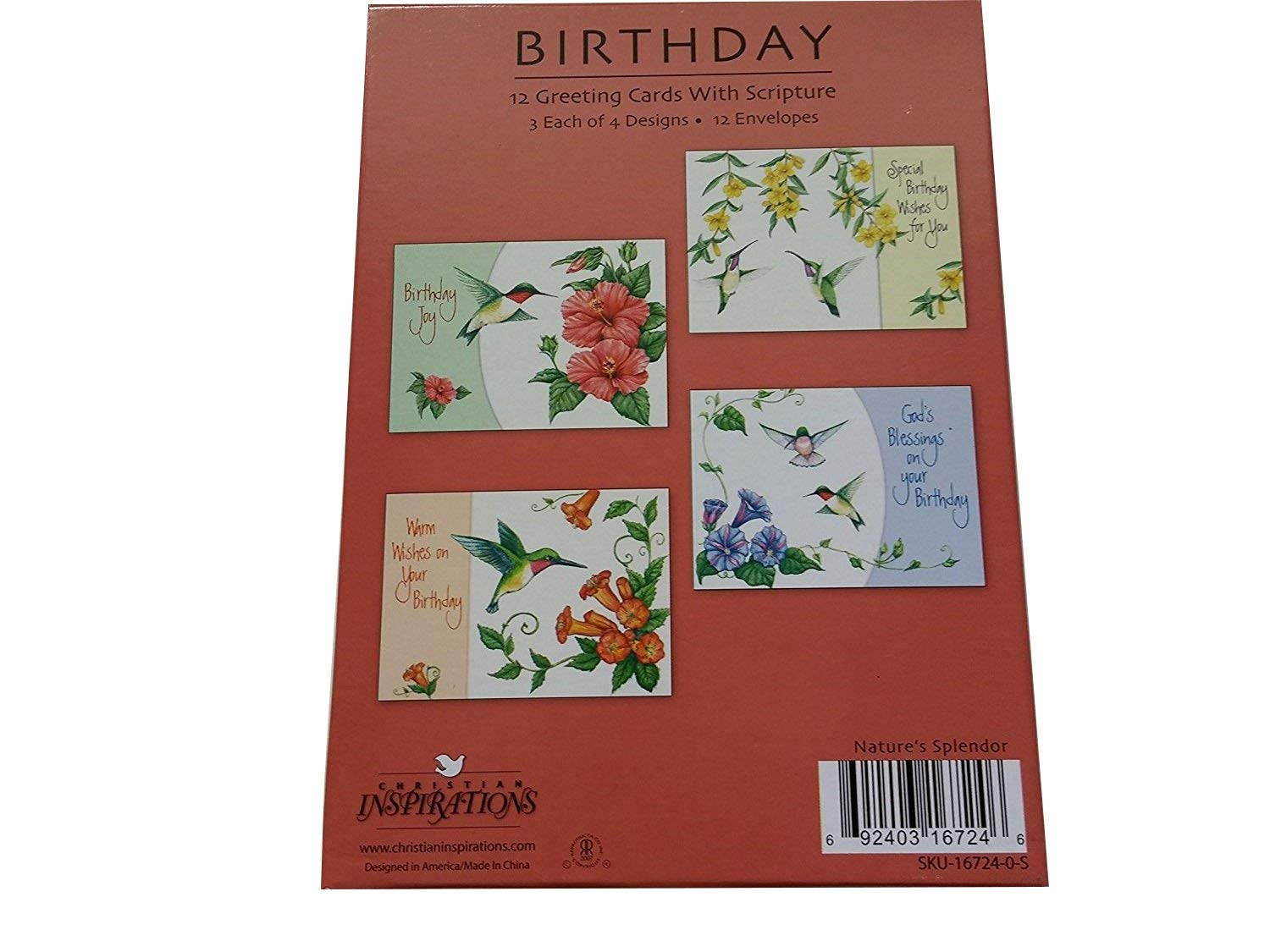 Buy Christian Inspirations 12 Diecut Get Well Greeting Cards With