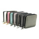pink green white grey pu glitter bling women leather money clip wallet