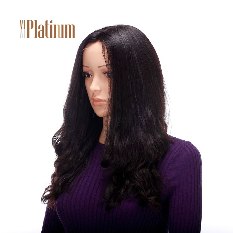 Perfect Handtied Virgin Human Hair Jewish Kosher Lace Front Wigs