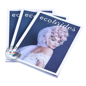 China factory shenzhen cheap full color custom style coloring magazine or brochure book and printing service