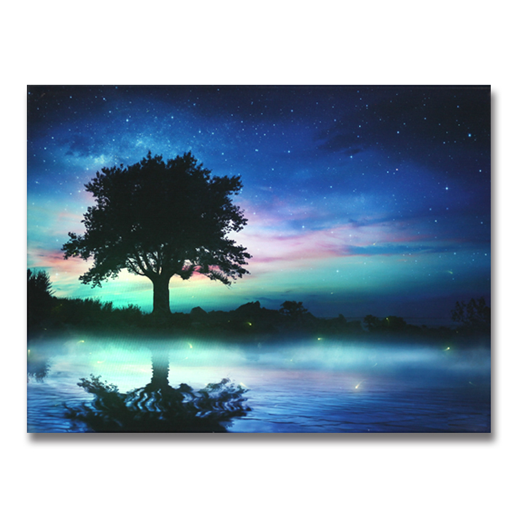 2019 Landscape canvas painting <strong>picture</strong> for home decor wall decoration art