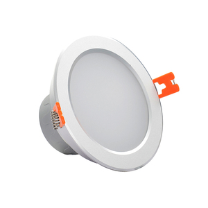 Project lighting IP44 low power dimmable 3w cob led downlight high quality optics diffuser plate outdoor led recessed downlight