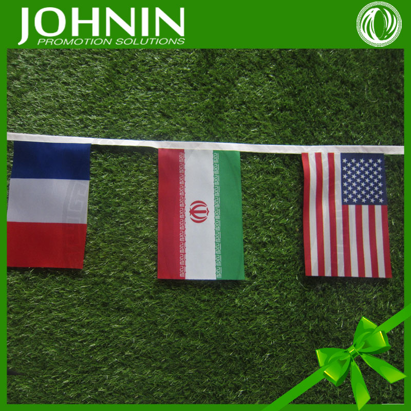 2018 Russia World cup Custom country national decorative bunting flag
