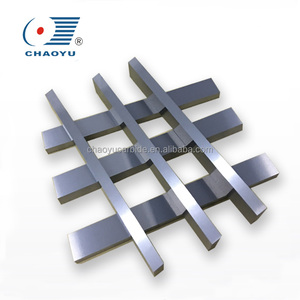 K30 hard alloy high hardness planer blade strips/170mm wolfram carbide taper boring blade/boring blade as scraper