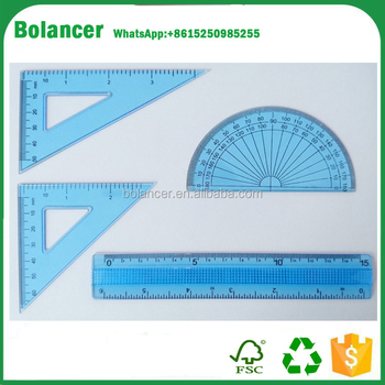 Manufacturing Maths Geometry Ruler Set Protractor,Ruler Set Squares ...