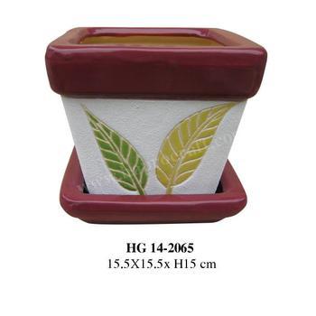 En Ceramique Plante Decorative Pots Interieur Petite Taille Avec
