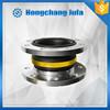 rubber pipe fitting vibration damper connector rubber flexible flange coupling