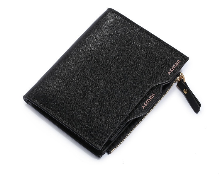 2015 new men wallets coin pocket credit card zipper holder,solid mens short my little purse luxury famous brand wallet