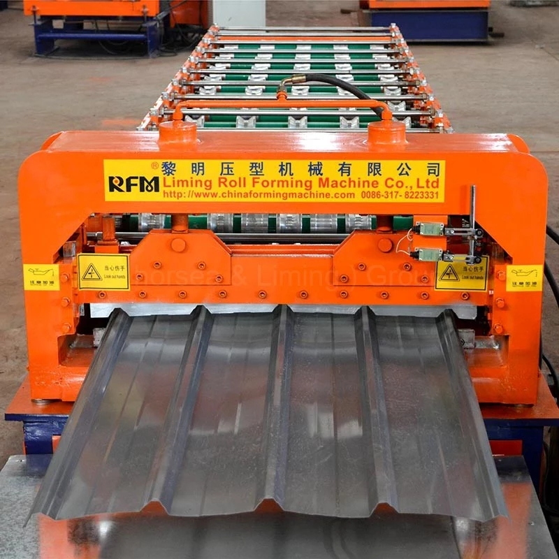 The Machine Will Install By Expert , Waterproof Wall Panel Cold Making Double Layer Roll Forming/Former Machine