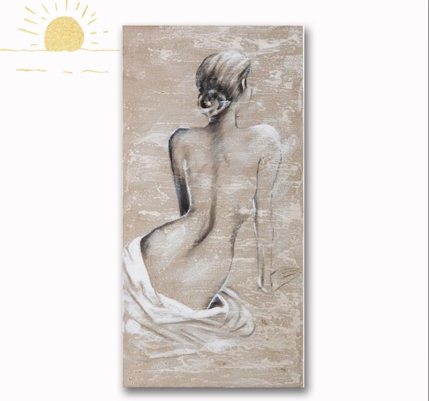 Peint A La Main Sexy Femme Peinture Retour Femme Nue Corps Peinture A L Huile D Autres Peintures Id De Produit 500010876482 French Alibaba Com