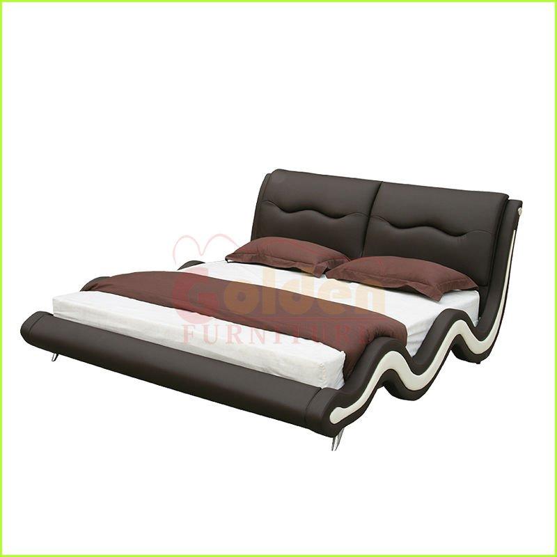 현대 파 모양 높은 beadboard 목제 1인용 침대 가구-침대 -상품 ID ...