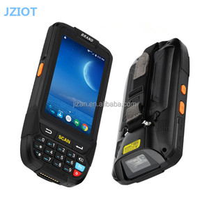 JZIOT Portable Android PDA 1D 2D Mobile Data Collector Terminal With Charger 4'' Screen 16G ROM/Wifi/BluetoothNFC Reader