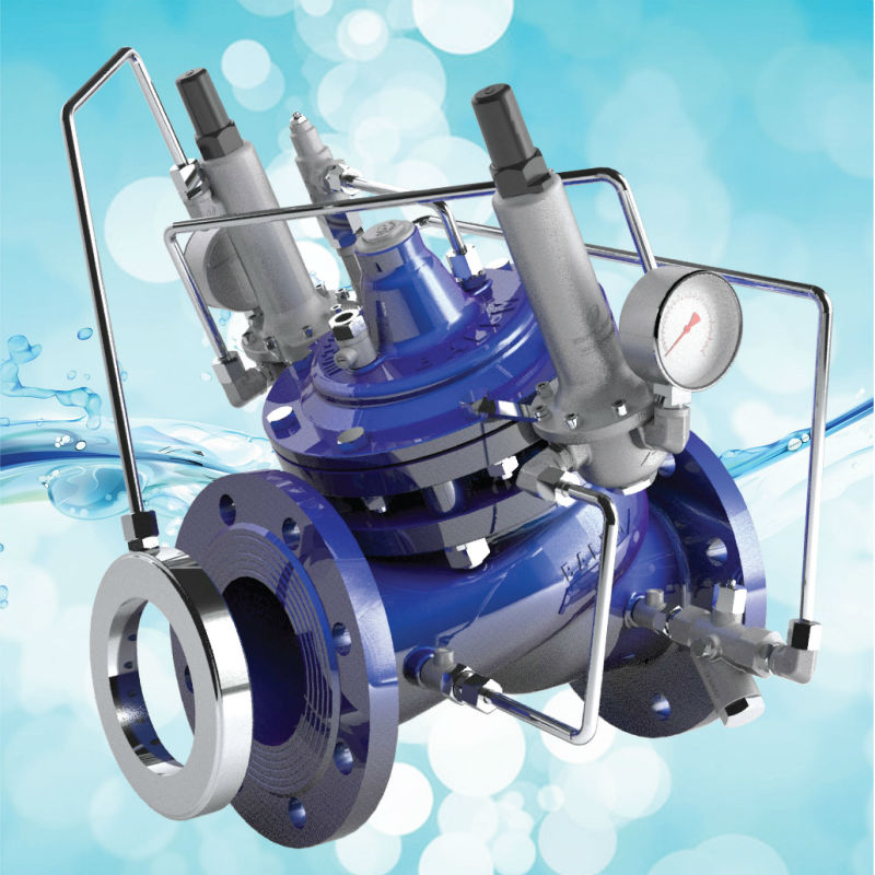 Pressure Reducing & Flow Control Valve (MODEL 136-020)