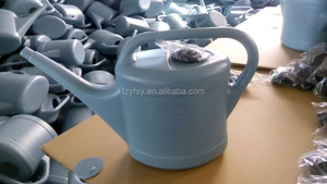 12 Liter Quality big Plastic Grey Garden Watering Can with 10cm Rose Spout