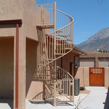 Exterior Spiral Cast Iron Stairs For Outside Prices