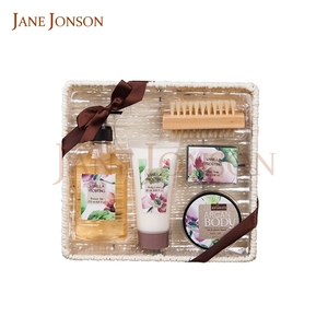 Fashion design soap spa basket gift set