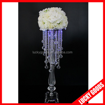 Whole Crystal Candelabra Wedding Centerpieces For Table