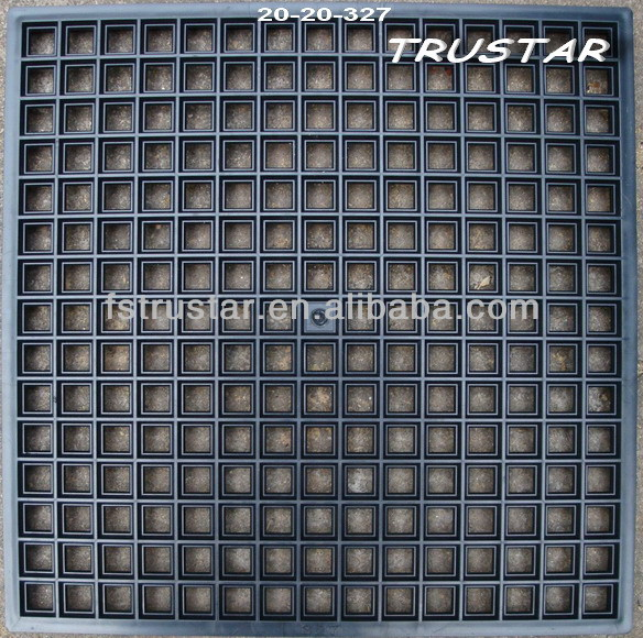 Plastic Mosaic Tray Tile Grid Mounting Mould Paving Mold And Template For Gl