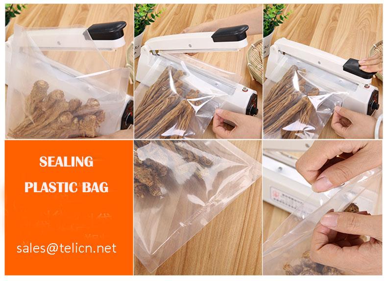 """12 """"Của Nhãn Hiệu Xung Nhiệt Niêm Phong Nhựa Cho PP PVC Foil Túi"""