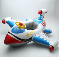 baby inflatable seat float pool beach toys / swimming ring water airplane beach toy boat