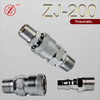 Single shut off pneumatic quick release coupling air fittings