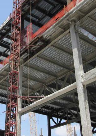 high quality composite Galvanized floor steel decking sheet