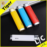 Metal Windproof Tiger 27 # Custom Cigarette Cheap White Lighter Butane Lighter