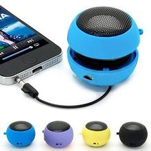 2015 New Mini Portable Hamburger Speaker Amplifier For iPod iPad Laptop iPhone Tablet PC 1VATFree Shipping 6H8K