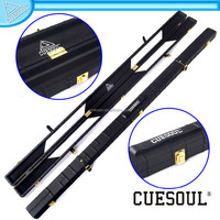 CUESOUL 1.5m hard case with 2 sections for one piece cues, Hard cue case for sale
