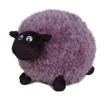 Adorable Round Fat Black Sheep Plush Toy For Baby Sleeping Buy