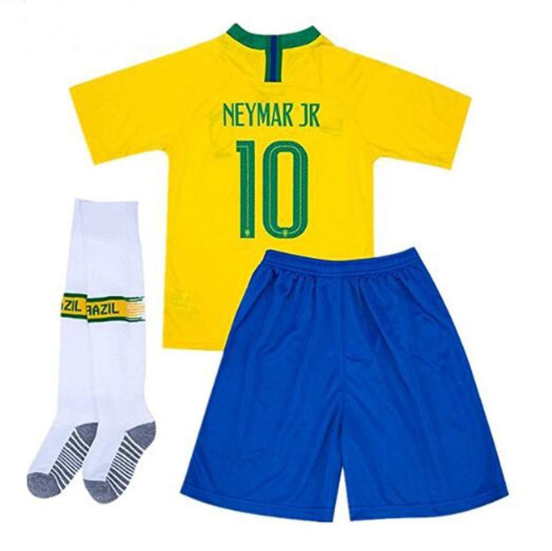 Societee Brazilian American USA Brazil Pride Flag Youth /& Toddler Tee Shirt