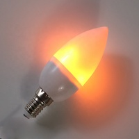 2019 NEW dimmable warm light LED Flickering Flame Candle Bulb