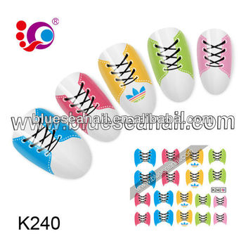 2014 New Designs Fashion Nail Art Sticker Nail Accessories Different