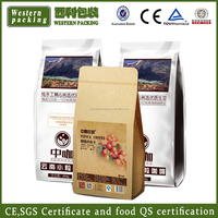 Hot Sales biodegradable tea packaging stand up plastic zipper bag aluminum foil zipper bag for coffee