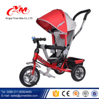 New model good quality cheap Kid's smart toy baby tricycle/children baby tricycle 360 degree rotatable/baby walker tricycle