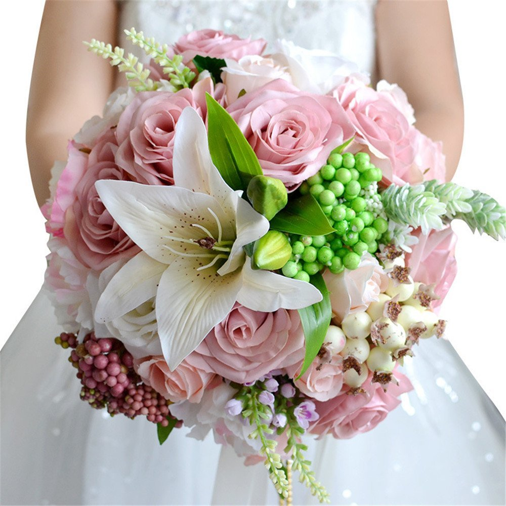 Cheap Brooch Bouquet Pink Find Brooch Bouquet Pink Deals On Line At