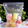 Factory wholesale cheap cute plastic bag made from food grade material for pudding packaing