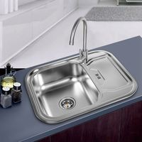 Wholesale Various Styles Single Bowl Various Kitchen Stainless Steel Sink