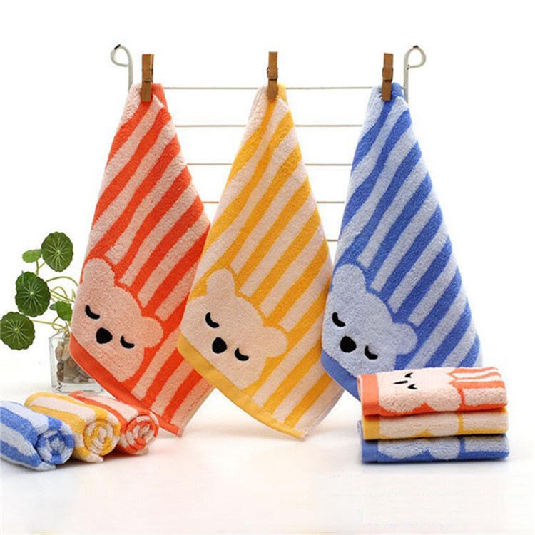 striped velour towel fabric