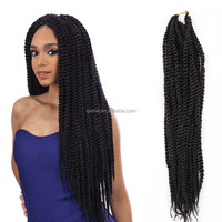 Hot sell havana mambo twist braid hair extension hanger for blace Africa women