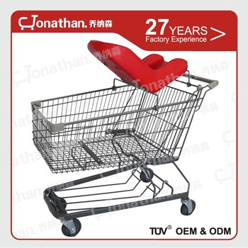 Tuv Approved Rolling 150l Grocery Store Shopping Carts - Buy Grocery Store  Shopping Carts,150l Grocery Store Shopping Carts,Rolling Shopping Cart