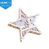 Christmas star LED wooden mood light kids 3D shadow box battery night lamp