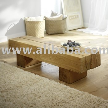 Oak Beam Coffee Table
