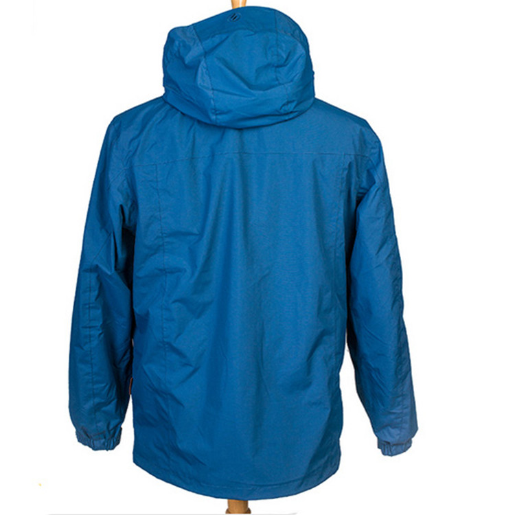 High quality Europe style men membrane waterproof breathable polyester ski jacket
