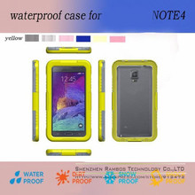 Cheap Mobile Phone Case Galaxy Note 4 Waterproof Cover Cell Phone Cases for Samsung