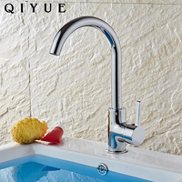 Cheap price modern swan neck pull down chromed kitchen faucets taps