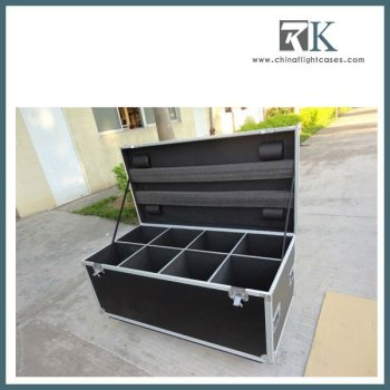 Portable Stage Lighting Road Case, for holding 8 par cans